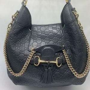 Gucci Emily Hobo Guccissima Leather Medium bag